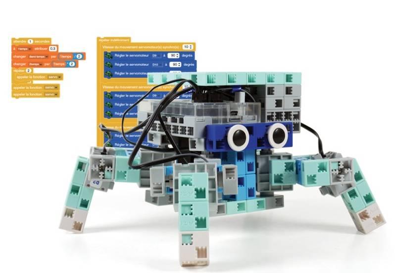 On enseigne la programmation robot dans certaines écoles françaises